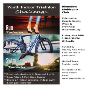 Youth Triathlon Challenge